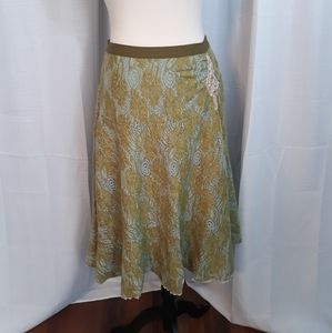 Free people acrylic wool lace maxi skirt sz SP *O